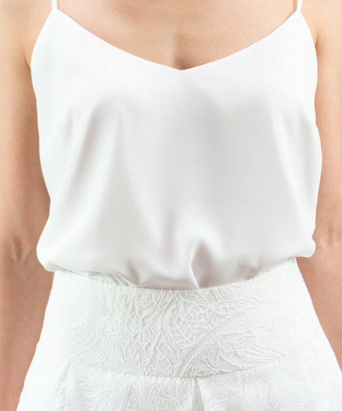 top-ina-georgette-ivory